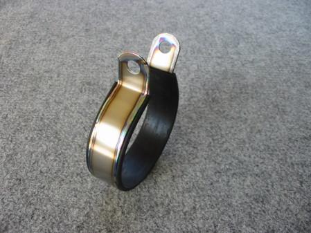 チタン製 端面ビード加工 サイレンサーバンド(焼色無し)