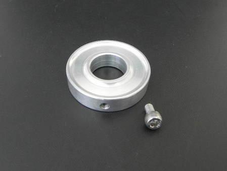 アルミ製 削り出しエンドバッフル(チタン製テールピースφ76用)