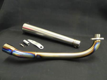 TAKEGAWA DOHC用 メガホン フルEXマフラー ロングタイプ